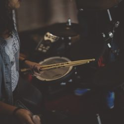 Feel the beat: being a drummer